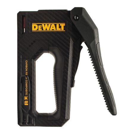 DeWalt 18 Ga. Carbon Fiber Composite Staple Gun Yellow/Black