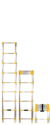 Xtend & Climb Aluminum 8.5 ft. H Extension Ladder 225 lb. Type II