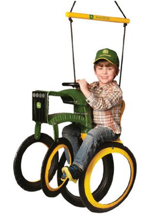 John Deere Tractor Tire Swing