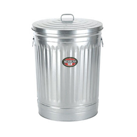 Behrens 20 gal. Galvanized Steel Garbage Can