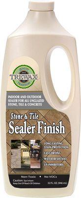 Trewax Stone and Tile Sealer Finish Acrylic Urethane 32 oz.