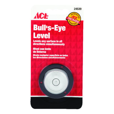 Ace Plastic Bull's Eye Level 1-3/8 in. L