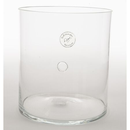 Decoris Cylinder with Hole Clear Glass 1 pk