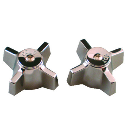 Ace Metal Metal Hot and Cold Faucet Handles