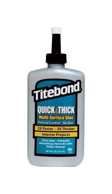 Titebond Quick & Thick Multi-Surface Glue 8 oz.