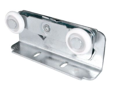 Prime-Line 7/8 in. Dia. Plastic/Steel Roller Assembly 2
