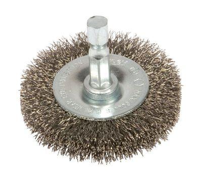 Forney 2-1/2 in. Dia. Fine Crimped Wire Wheel Brush 6000 rpm