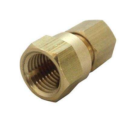JMF 1/4 in. FPT Dia. x 1/8 in. FPT Dia. Brass Compression Connector