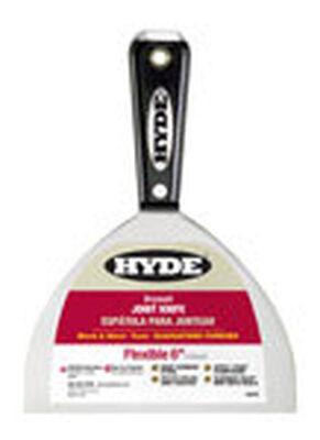 Hyde 6 in. W High Carbon Steel Joint Knife Nylon Flexible