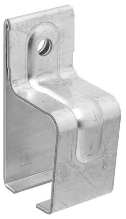 Stanley Galvanized Single Box Rail Brackets 1.98 in. W x 2.28 in. L