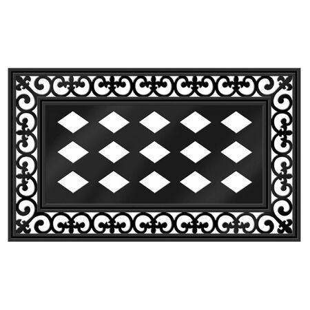 Sassafras Rubber Floor Doormat Frame