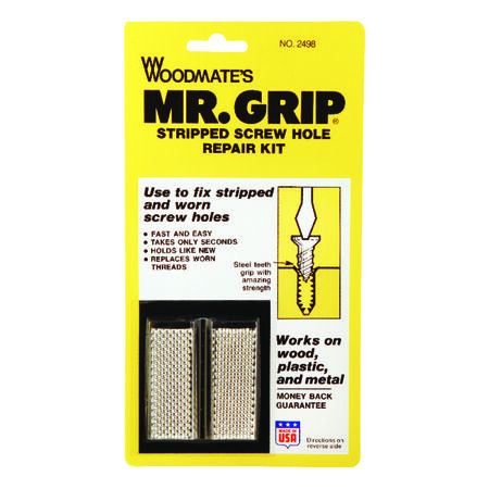 Woodmate's Stripped Screw Hole Repair Kit 3/4 in. Dia. x 2 in. L 8 pk