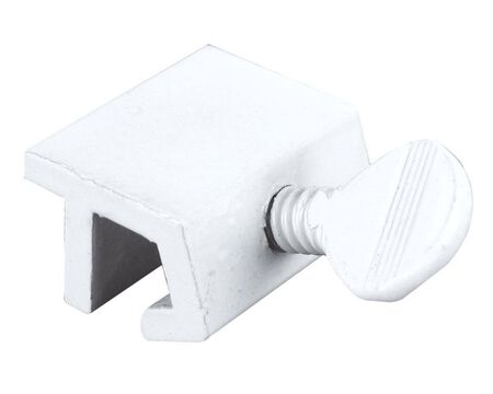 Prime-Line Painted Aluminum Window Lock White 2