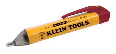 Klein Tools LED Non Contact Voltage Tester 48/1000 VAC Yellow