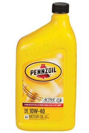 Pennzoil SAE 10W40 Motor Oil 1 qt.