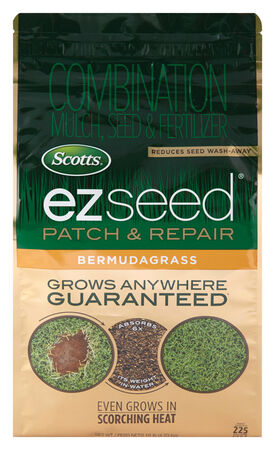 Scotts Ez Seed Seed Mulch & Fertilizer 10 lb. Bermuda