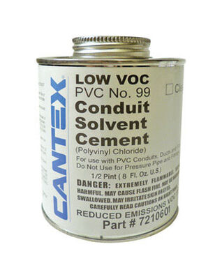 Cantex Electrical Conduit Cement Rigid PVC