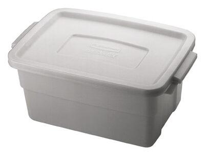 Rubbermaid Roughneck Storage Box 7 in. H x 10.3 in. W x 3 gal.