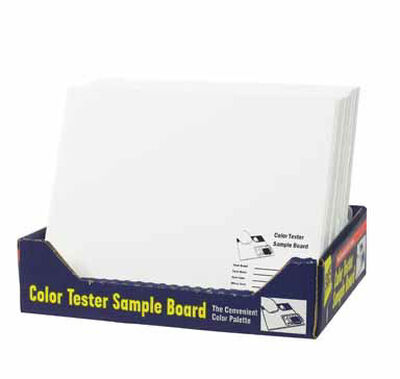 FoamPRO Color Test Sample Board 12 in. L x 10 in. W Foam Core