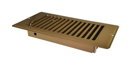 US Hardware RV Floor Register - Deluxe 1 pk