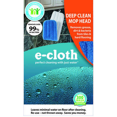 E-Cloth Damp 5-1/4 x 17-1/2 Mop Refill