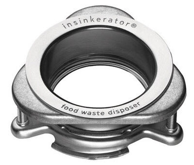InSinkErator Garbage Disposal Sink Flange Stainless Steel