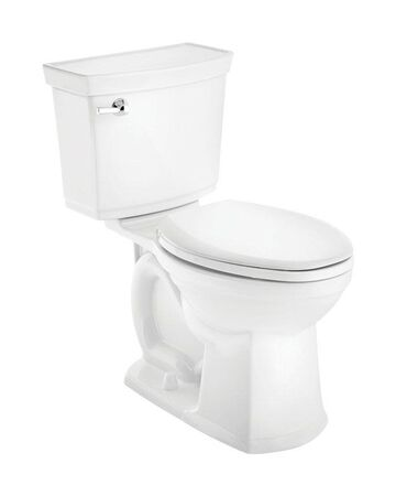 American Standard Astute Vormax Elongated Complete Toilet 1.28 ADA Compliant White