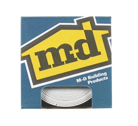 M-D Building Products Coved Wall Base Vinyl 4 in. H x 20 ft. W White