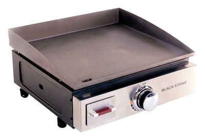 Blackstone 17 inch Table Top Propane Grill Griddle Black 12000 BTU