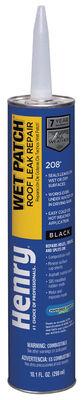 Henry Asphalt Wet Patch Roof Cement 10.1 oz. Black