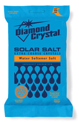 Diamond Crystal Solar Naturals Water Softener Salt Crystal 40 lb.