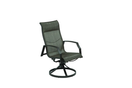 Living Accents Icarus 2 pc. Black Aluminum Frame Swivel Rocking Chai
