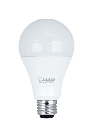 FEIT Electric Performance LED Bulb 7/15/21 watts 800/1500/2200 lumens 2700 K A-Line 50/100/150 w