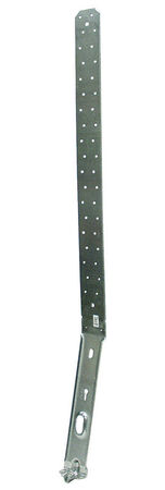 Simpson Strong-Tie Galvanized Steel Strap 26-1/8 in. H 12 Ga.