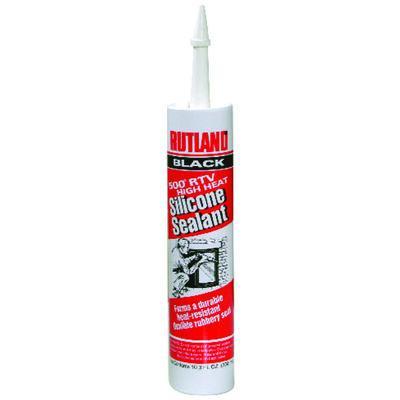 Rutland Black High Heat Silicone Sealant