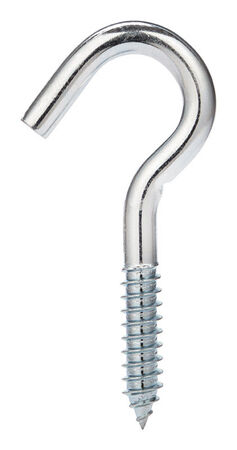 Hampton 7/16 4.25 in. L Zinc-Plated Steel Clothesline Hook 1 pk