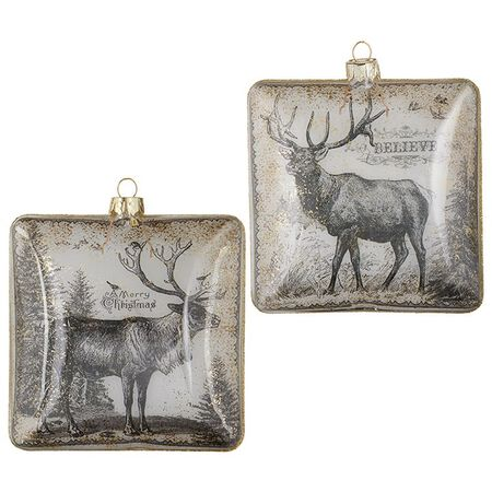 "4"" Deer Ornament"