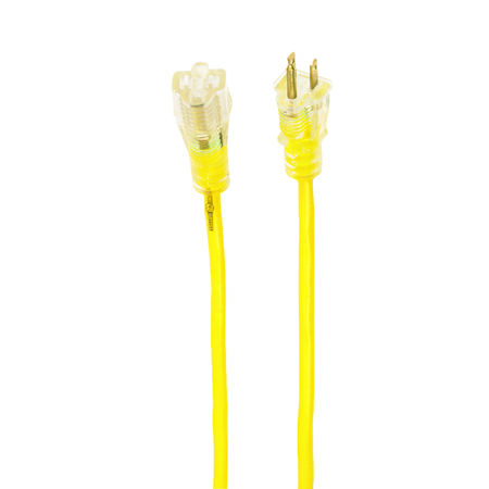 Yellow Jacket Outdoor Extension Cord 14/3 SJTW 100 ft. L Yellow