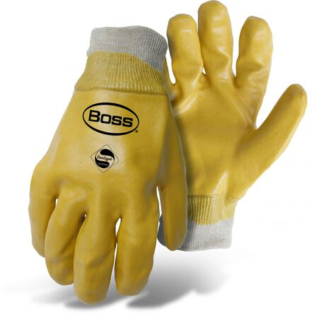 Glove Chemical PVC L Knit Wris