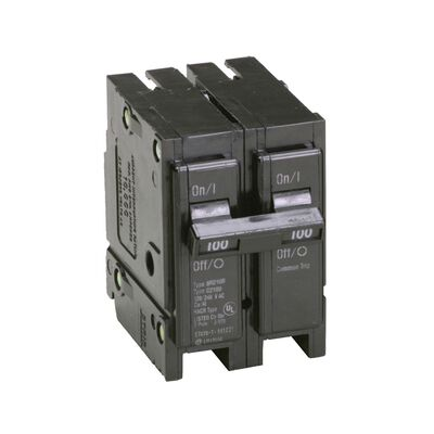 Eaton HomeLine Double Pole 100 amps Circuit Breaker