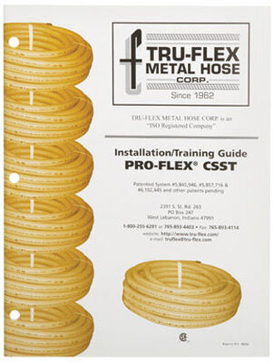 Pro-Flex CSST Installation and Training Reference Book