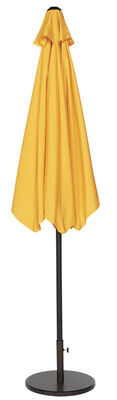 Living Accents 9 ft. Dia. Tiltable Patio Umbrella Yellow