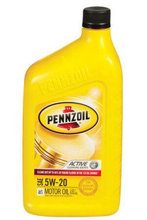 Pennzoil SAE 5W20 Motor Oil 1 qt.