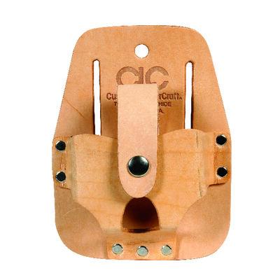 CLC 1 Tan Leather Tape Rule Holder 4.5 in. H x 3.5 in. L x 1.3 in. W