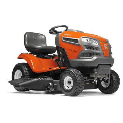 Husqvarna Briggs & Stratton 42 in  600 cc 18 5 hp Riding Lawn Tractor  Mulching Capability
