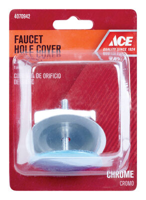 Ace Chrome Faucet Hole Cover 2 in. Dia.