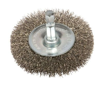Forney 2 in. Dia. Fine Crimped Wire Wheel Brush 6000 rpm
