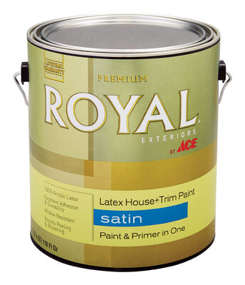 Ace Royal Acrylic Latex House & Trim Paint & Primer Satin 1 gal.