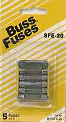 Bussmann 20 amps SFE Automotive Fuse 5 pk