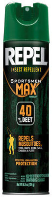 Repel Sportsmen Max DEET 40% Insect Repellent 6.5 oz.